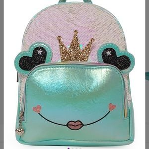🆕 OMG Accessories Queen Lilly Frog Mini Backpack